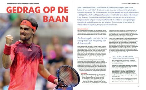 timeless design b7b61 7cda3 Artikel over gedrag op de baan in TENNiS.nl Magazine ...